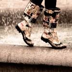 雨用ブーツ