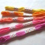 4本の糸でミサンガを編んでみよう!編み方を紹介!!