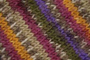毛糸の編み物