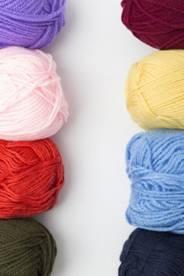 色々な毛糸