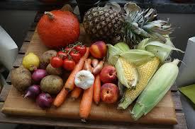 くだものや野菜などの食材