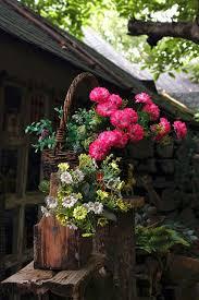 ハンキングで飾る花