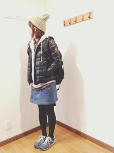キャンプでの冬服装