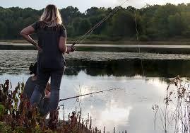 釣りする人