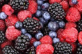 ベリー系の果物