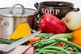 スープの材料